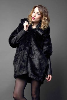 Zoe Phobic faux-fur coat