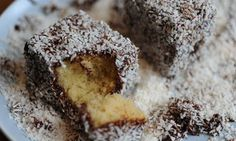 Recipe Lemon Coconut Yoghurt Cake by learn to make this recipe easily in your kitchen machine and discover other Thermomix recipes in Baking - sweet. Food Cakes, Cup Cakes, Lamington Cake Recipe, Bread Recipes, Cake Recipes, Gourmet Recipes, Dan Lepard, Australian Food, Cake Cover
