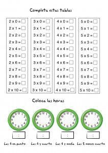 Fichas de matematicas, multiplicacion, tablas de multiplicar, ejercicios primaria Preschool Education, Teaching Kids, Multiplication And Division Worksheets, Math Sheets, Math School, Primary Maths, Bullet Journal School, Math For Kids, School Lessons