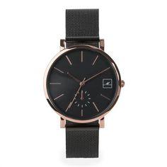 watch-women-black-rosegold-mesh-bracelet-stainless-steel-W317M02-MIA