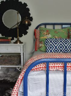 painting a metal bed and getting past perfection - Boy Bed Frames