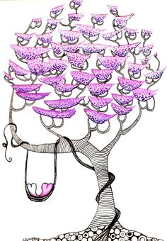 Love Birds, Or Hearts on a Vine