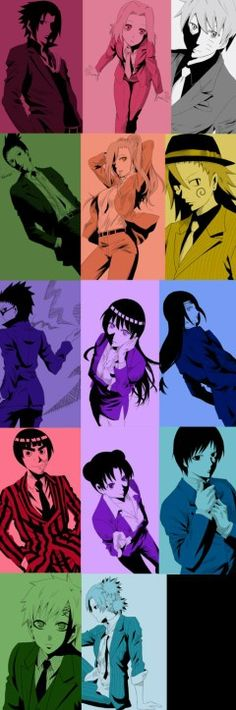 Naruto modern world Hawwwwwt!