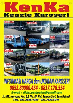 KAROSERI MOBIL TRUCK: KAROSERI TRUCK TRAILER