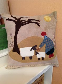 Little shepherdess by Reets rags to stiches. Done by Susan Scoggins