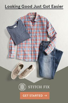 Stitch Fix is your personal style expert. Looking to refresh your closet for Spring or just trying to find a few new favorites? Our Stylists listen to you, so you get the right look and the right fit every time. It's the hassle-free way to get clothes delivered right to your door. Shipping, returns and exchanges are always free. What are you waiting for?