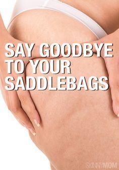 Saddlebag Exercises | Skinny Mom.