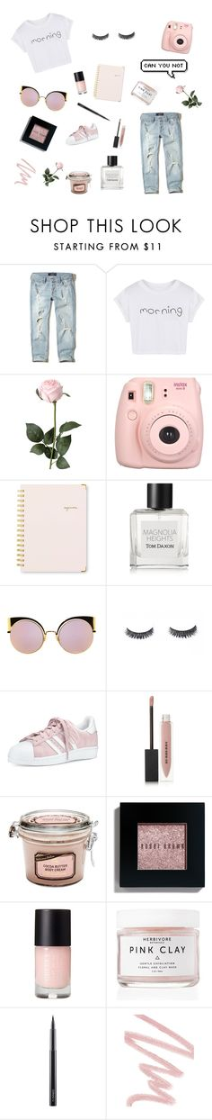 """Can You Not"" by karalyn-schwartz ❤ liked on Polyvore featuring Hollister Co., WithChic, Fujifilm, Sugar Paper, Tom Daxon, Fendi, adidas, Burberry, Bobbi Brown Cosmetics and Herbivore"