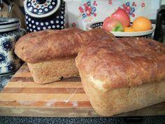 Oatmeal & Honey Bread  2 Loaves of Homemade Bread  by StrobleFarms