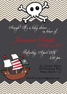 pirate baby shower invitations 4