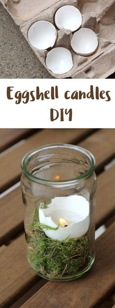 Egg candles are great for Easter and spring time! We show you how easy it is to make candles using eggshells in this DIY tutorial.