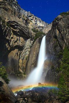 Lower Yosemite Falls, California