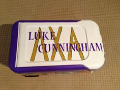 Lambda Chi Alpha cooler I made!