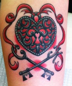 The Art Of the Tattoo: Megan Massacre - Heart Locket