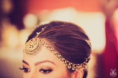 Arushi & Dhruv   Grand Wedding at Leela Gurgaon   Think Shaadi. Matha patti