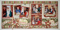 Two Page Layouts - Kiwi Lane Designs - Christmas
