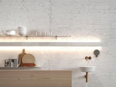 IP extendable wall lamp, for Nordlux 2016 Kitchen Post, Led Stripes, Indirect Lighting, Decoration Table, Fairy Lights, Polished Chrome, Floating Shelves, Home Furniture, Kitchen Design
