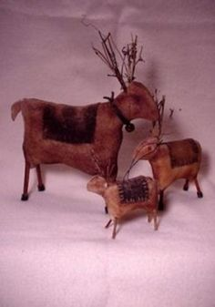 Primitive Craft Patterns - WINTER - Primitive Epatterns, Patterns, and Handcrafted Folkart by Sassafras Hill Primitives Primitive Sheep, Primitive Crafts, Primitive Christmas, Christmas Sale, Christmas Raindeer, Primitive Patterns, Christmas Sewing, Christmas Holidays, Christmas Ornaments