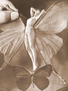 varietas: Wlassics Olga /MFM / via Fotóművészet Nude Photography, Artistic Photography, Vintage Photography, Portrait Photography, Photomontage, Georg Christoph Lichtenberg, Celine, Vintage Fairies, Photoshop