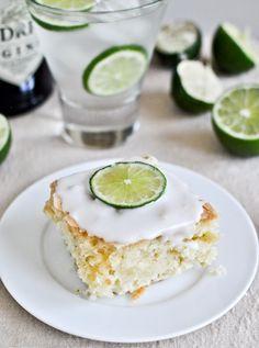 Gin and Tonic Cake I howsweeteats.com