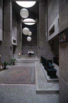 Church / Pastoor Van Ars / Aldo Van Eyck / The Hague / Netherlands