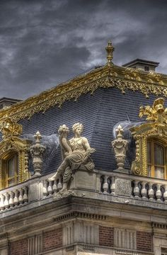 Rooftops detail at the palace of Versailles in Versailles, France Chateau Versailles, Palace Of Versailles, Art And Architecture, Architecture Details, The Places Youll Go, Places To Go, Beautiful World, Beautiful Places, Paris Jackson