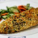 Receita de filé de peixe em crosta de aveia, limão e gengibre