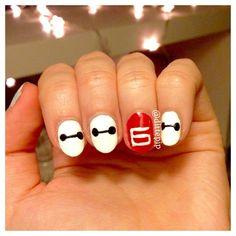big hero 6 nails - Buscar con Google