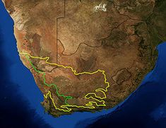 Karoo Wikipedia The Free Encyclopedia Africa South Africa Southern Africa
