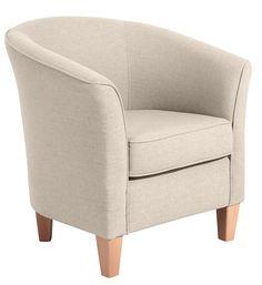 Kleiner, zierlicher Einzelsessel, der in jeden Raum passt. Bezug: Lederlook der Spitzenklasse! Pflegeleicht, strapazierfähig, besonders weich und in naturgetreuer, feiner Optik. Die Rückseite ist mit Originalstoff bezogen, somit ist der Sessel frei im Raum stellbar. Die nussbaumfarbenen Buchefüße werten den Sessel zusätzlich auf.