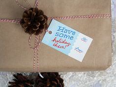Set of Holiday Gift Tags