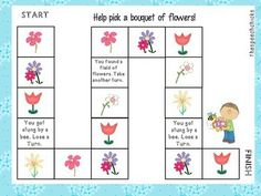 SPRING GAME BOARDS & REINFORCER PAGES - TeachersPayTeachers.com freee
