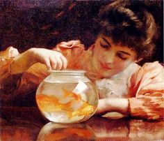 A Polar Bear's Tale: ...and a few goldfishes for you, Ricka ;O)