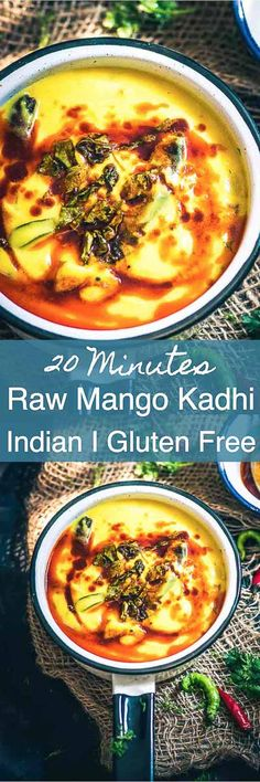 True to its name, this one of its kind accompaniment, Raw Mango Kadhi is essentially a delight for all the mango fans out there! Indian I Kadhi I Mango I Recipe I Easy I Simple I Quick I Gluten Free I Perfect I Best I