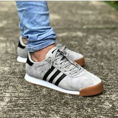 adidas Samoa tal how about this classic? Addidas Sneakers, Sneakers Mode, Adidas Shoes, Sneakers Fashion, Shoes Sneakers, Addidas Shoes Mens, Adidas Samba, Sneaker Outfits, Best Mens Trainers