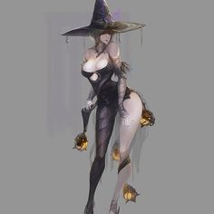 Kai Fine Art is an art website, shows painting and illustration works all over the world. Fantasy Character Design, Character Design Inspiration, Character Concept, Character Art, Concept Art, Fantasy Witch, Witch Art, Fantasy Girl, Dark Fantasy