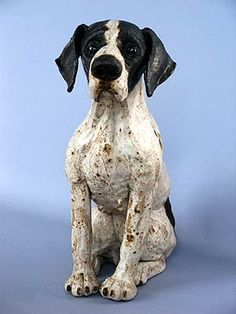 Artist's Images: Joanne Cooke Pottery Animals, Ceramic Animals, Clay Animals, Ceramic Art, Paper Mache Sculpture, Dog Sculpture, Animal Sculptures, Paper Sculptures, Paw Print Art