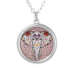 Sugar Elephant Necklaces