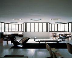 Oscar Niemeyer's Office in Copacabana, Rio de Janeiro