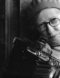 Self Portrait with Camera, late 1920s  Imogen Cunningham