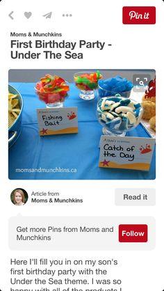 Cute snacks with descriptions