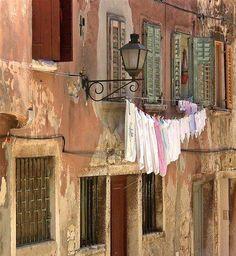 fresh laundry...
