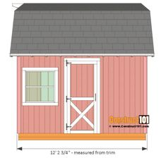 Free Shed Plan - 10 Best Of Free Shed Plan , Barn Shed Plans with Overhang Free Pdf Framing Construction, Free Shed Plans, Storage Shed Plans, Workshop Storage, Diy Storage, Shed Doors, Shed Kits, Barns Sheds, Wooden Sheds