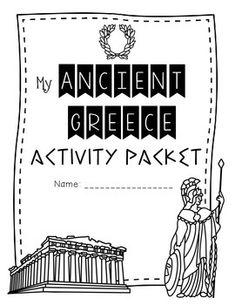Ancient Greece {Activities, Worksheets, & Handouts}