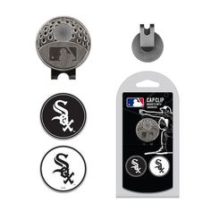 Team Golf Chicago White Sox Marker Cap Clip - Golf Equipment, Collegiate Golf Products at Academy Sports #CoolGolfEquipment