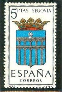 1965 España-Escudo de la Provincia de Segovia