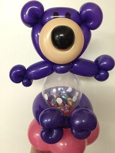 Bear stuffed balloon by LouLou