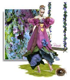 """""""Wambli Fairy"""" by wambliwakan ❤ liked on Polyvore featuring art"""