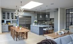 Our Collection of bespoke Kitchens - Mowlem & Co kitchen examples Bespoke Kitchens, Luxury Kitchens, Bespoke Furniture, Luxury Furniture, Dining Booth, Freestanding Kitchen, Kitchen Gallery, French Chairs, Handmade Kitchens