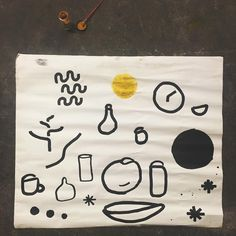 "@seanwspellman ""acrylic and turmeric on an old nautical map of miami"""